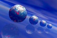 jord time2 vektor illustrationer