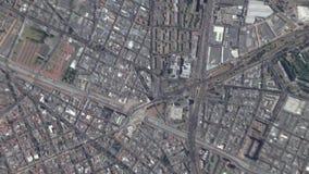 Jord zoomar in zoomen ut Bogota Colombia stock video