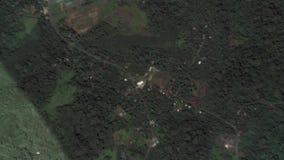 Jord zoomar in zoomen ut Palikir Federated States of Micronesia royaltyfri illustrationer