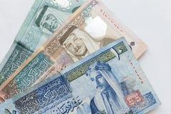 Jordańscy dinary, banknoty obrazy royalty free