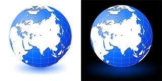 jorda en kontakt jordklotet Fotografering för Bildbyråer