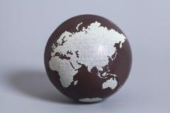 jorda en kontakt jordklotet Arkivbilder