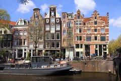 Jordaan neighborhood in Amsterdam, Netherlands. Stock Image