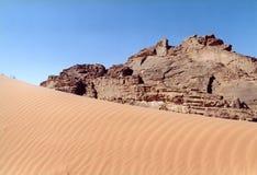 Jordan. Wadi-Rum Stock Photos