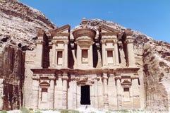Jordan. Tombs in Petra Stock Image