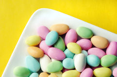 Jordan Almonds Stock Photography