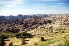 Jordan. Common types of terrain. Royalty Free Stock Image