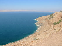 Jordan. Dead Sea. Royalty Free Stock Photo