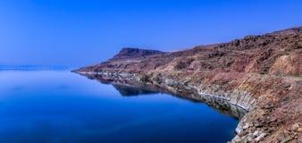 Jordan Dead Sea Salt Tourist-Plaats stock fotografie