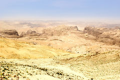 Jordan desert Royalty Free Stock Image