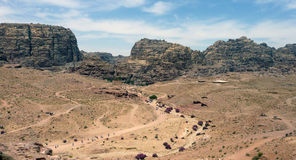 Jordan Desert Royalty-vrije Stock Afbeeldingen