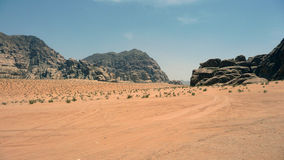 Jordan Desert Stock Afbeeldingen