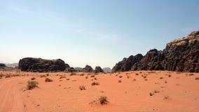 Jordan Desert Royalty-vrije Stock Afbeelding