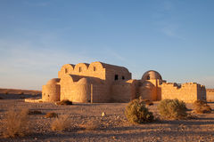 Jordan, desert castle Royalty Free Stock Photography
