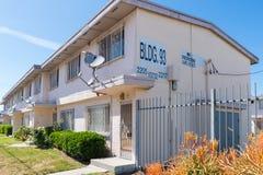 Jordan Downs-woonwijk stock afbeelding