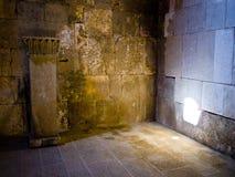 jordan för alamman citadel qasr royaltyfri fotografi