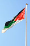 Jordan Flag stock photography