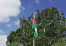 Jordan Flag Photo libre de droits
