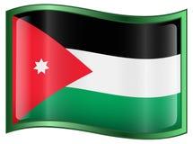 Jordan Flag Icon Stock Photo