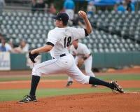 Jordan Foley. Charleston RiverDogs pitcher Jordan Foley #18 Stock Image