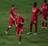 Jordan Henderson of Liverpool Royalty Free Stock Images