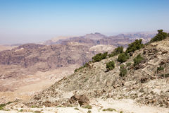 Jordan highland near Petra Stock Photos