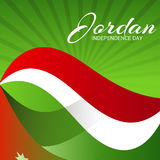 Jordan Independence Day. Royalty Free Stock Images