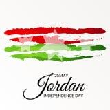 Jordan Independence Day. Stock Photography
