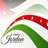 Jordan Independence Day. Royalty Free Stock Image