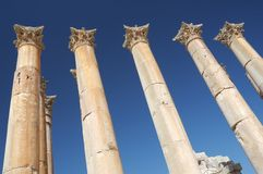 Jordan - Jerash Stock Photo
