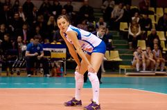 Jordan Larson(10), Dynamo Kazan team Royalty Free Stock Images