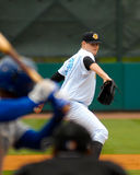 Jordan Montgomery, Charleston RiverDogs fotografia stock
