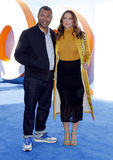 Jordan Peele and Chelsea Peretti Royalty Free Stock Photography