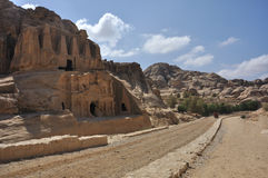 jordan petra Zdjęcia Royalty Free