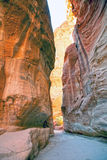 Jordan. Petra Royalty Free Stock Photography