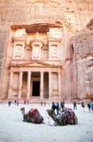 Jordan. Petra. Petra, Jordan. Petra is one of the New Seven Wonders of the World. UNESCO World Heritage. 20 july, 2014 Royalty Free Stock Photos