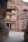 jordan petra skarbiec fotografia royalty free