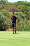 Jordan Player, son of Wayne and grandson of Gary Player on the g Stock Images