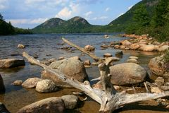 Jordan Pond Stock Photos