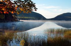 Jordan Pond Stock Image