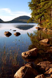 Jordan Pond Royalty Free Stock Image