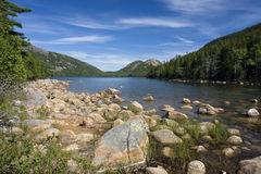 Jordan Pond Royalty Free Stock Photo