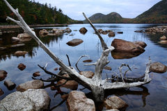 Jordan Pond Royalty Free Stock Images