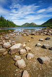 Jordan Pond Royalty Free Stock Photography