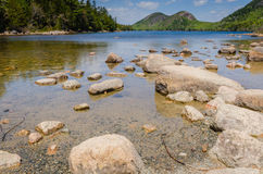 Jordan Pond - Acadia-Nationalpark - Maine Stockfotos