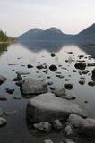 Jordan Pond Rocks Royalty Free Stock Photography