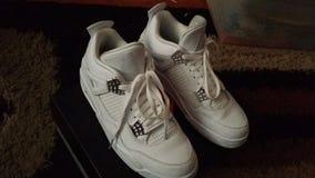 Jordan Retro 4 stock images