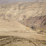 Jordan Rift Valley Royaltyfria Bilder