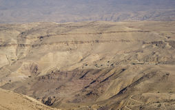 Jordan Rift Valley Arkivbilder