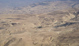 Jordan Rift Valley Royaltyfri Bild